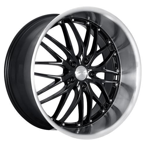 20 MRR GT1 Black Rims Wheels 20x8 5 32 5x112 Audi S4