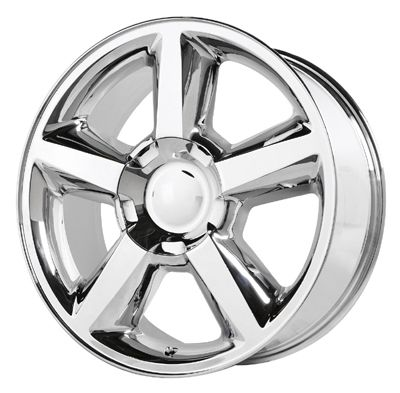 22 Chevy GMC Truck SUV 6LUG Chrome LTZ Wheels New 31mm