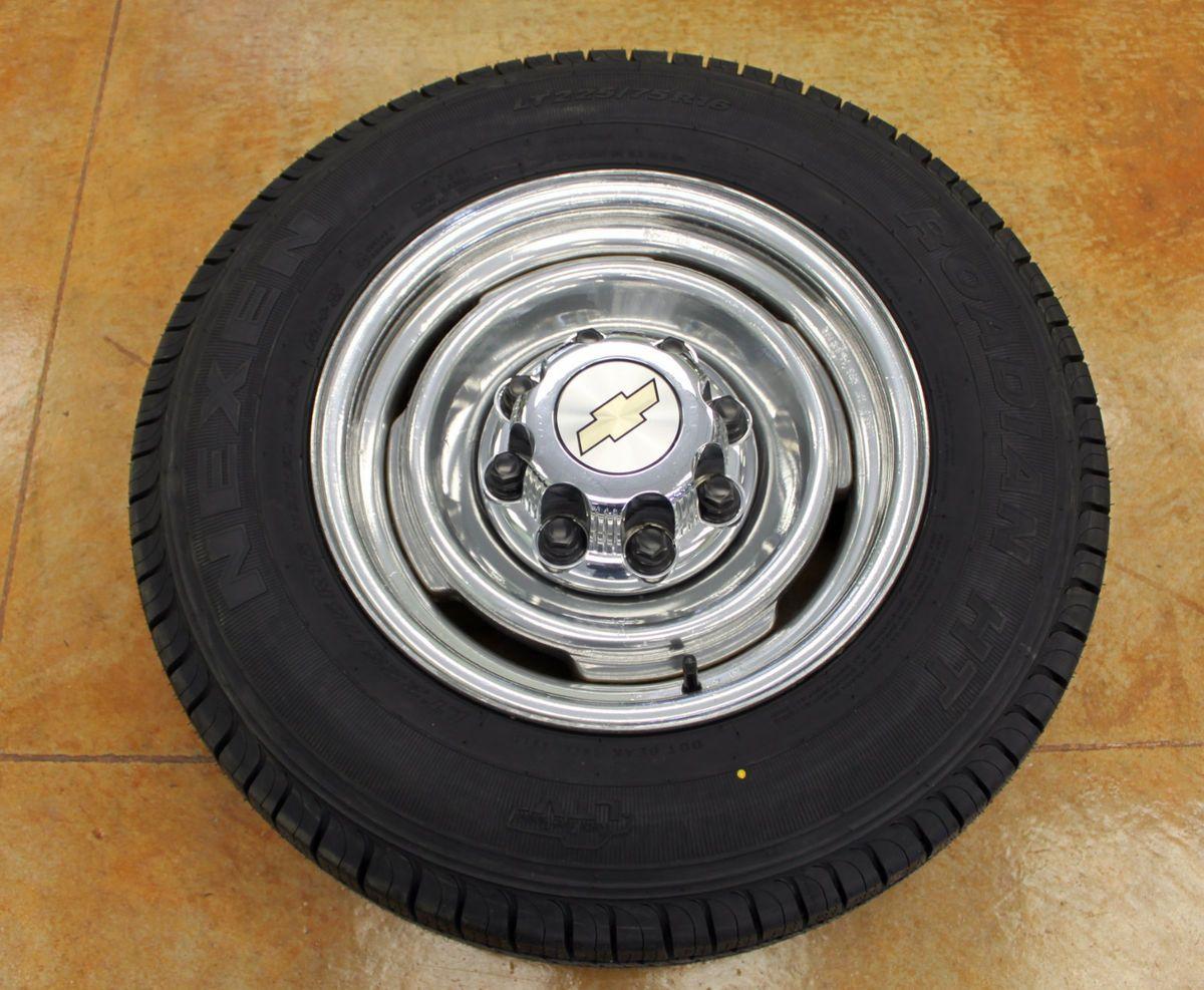 16 GMC Savana 2500 3500 Van Wheel Rims Tires LT225 75 16 Chevy Express
