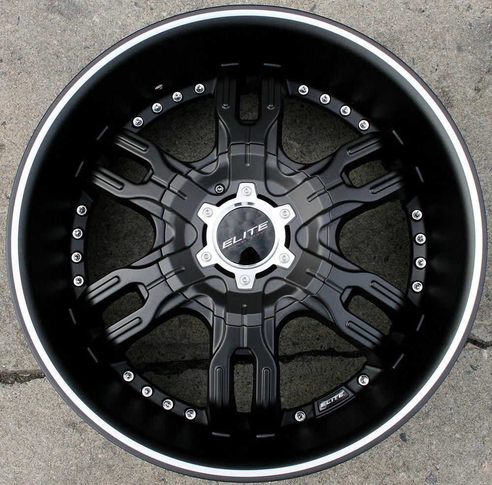 Elite Carnal W113 20 M Black Rims Wheels BMW E34 E39 E60 20 x 8 5 5H