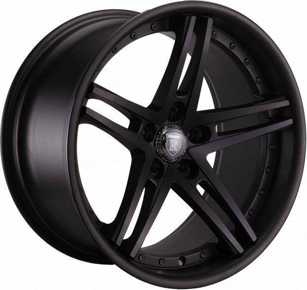 20 Rohana RC5 Matte Black Wheels Rims Fits Infiniti MDX 01 06 G35 G37