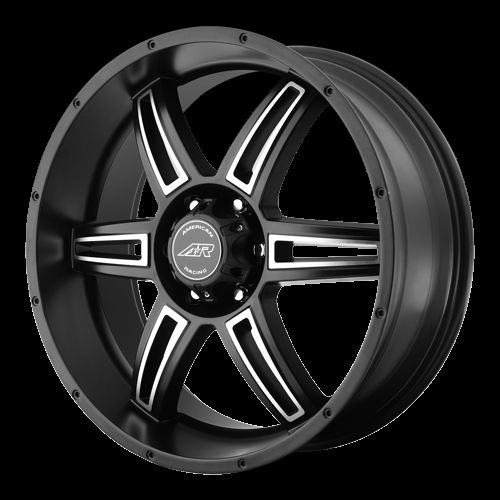 17 inch Black Wheels Rims Chevy GMC Truck 5 Lug 5 x 5 5x127 Jeep