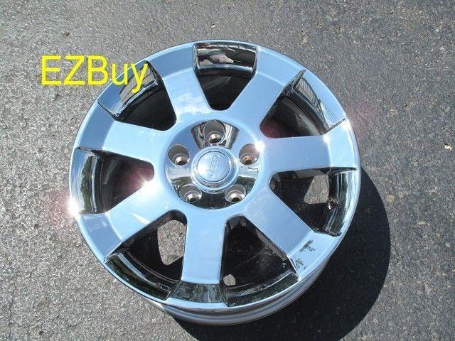 Grand Cherokee Wrangler Factory Chrome Wheel Rim 9093 New Take Off
