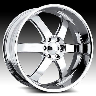 20x8 5 Boss 330 Chrome Wheel Rim 6x5 5 Sequoia Tacoma Tundra