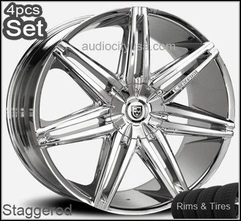Wheels and Tires Escalade Chevy Ford QX56 RAM Rims Silverado