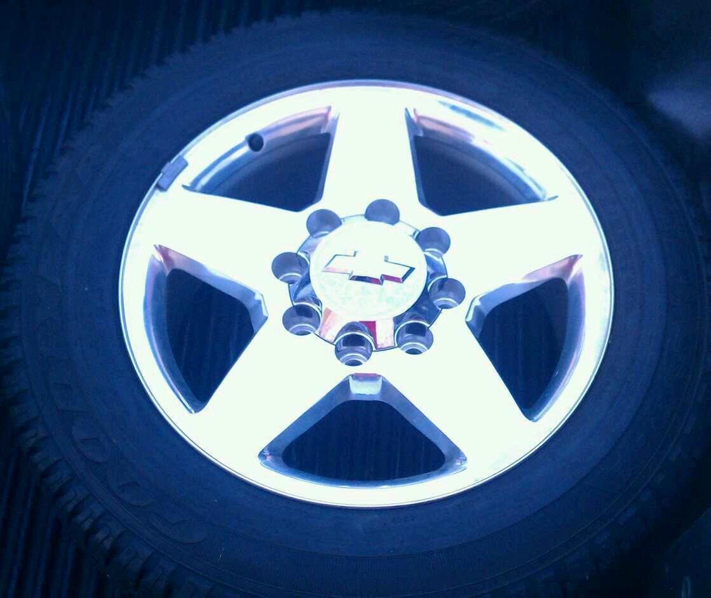 2012 20 inch Chevrolet 2500 HD Wheels Tires Rims