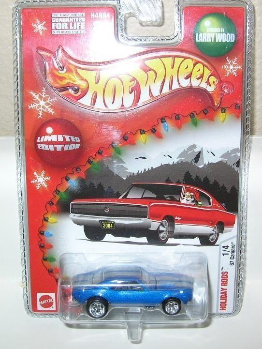 Hot Wheels Holiday Rods 67 Camaro 1 4
