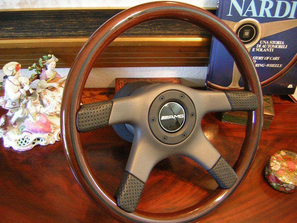 AMG 350 SLC 450 SL 560 SL 80 89 Nardi Wood Steering Wheel New