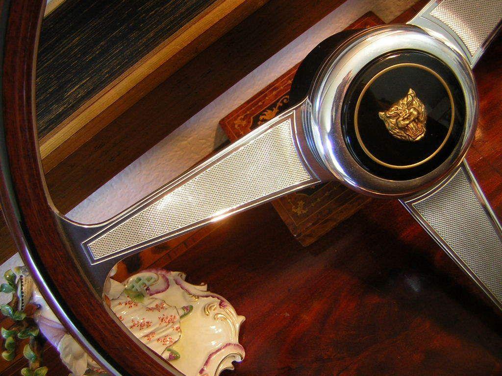 Jaguar XJS XJ12 87 to 94 Nardi Wood Steering Wheel New 15