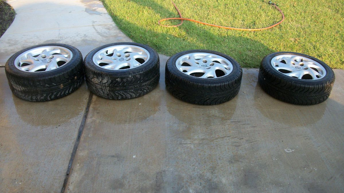 Factory Wheels Tires No Res Fitment 996 Boxter 88 on 944 968