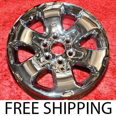 New Chrome 18 Ford F 150 FX2 FX4 OEM Factory Wheels Rims 3832 EXCHANGE