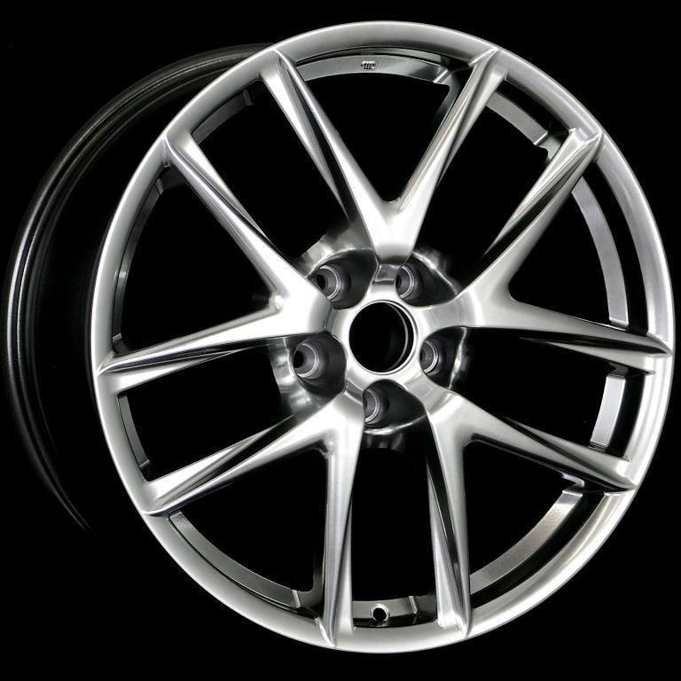 19 LFA Style Staggered Wheels 5x114 3 Rims Fits Lexus GS300 350 400