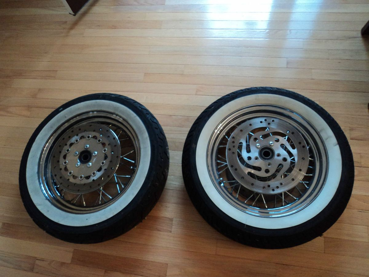 Harley Davidson Spoke Wheels Tires Rotars