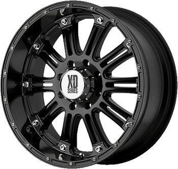 20 Black Wheels Rims XD XD795 6x135 Ford F 150
