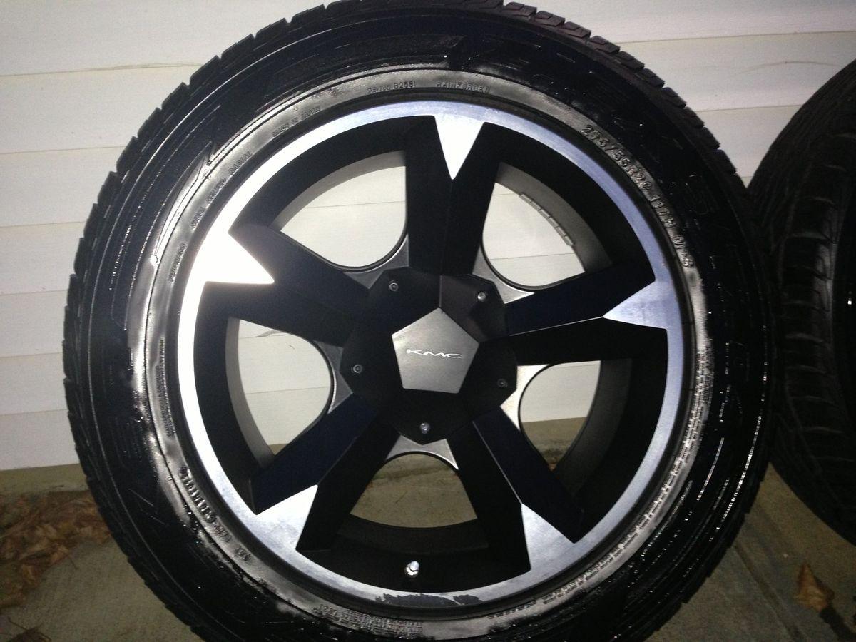 Ford F150 Wheels Rims and Tires Truck KMC674 Falken Ziex All Season