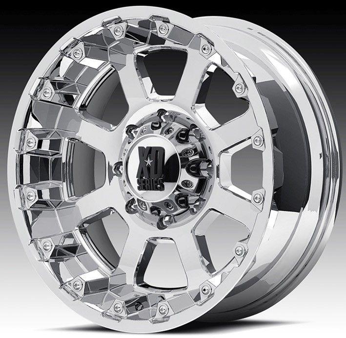 17 inch 17x9 XD Chrome Wheels Rims 5x5 5 5x139 7 Dodge RAM 1500 Ford