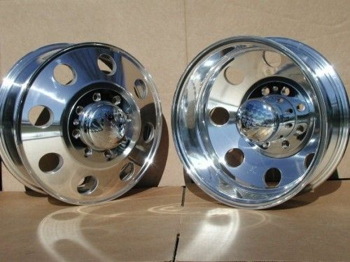 16 Aluminum Wheels Rims Chevy 3500 Dodge 3500 Dually Compare to Alcoa