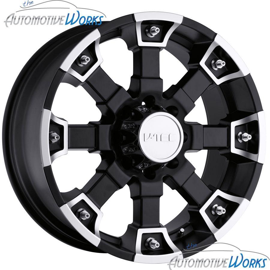 Tec Brutal 6x139 7 6x5 5 18mm Matte Black Wheels Rims inch 20