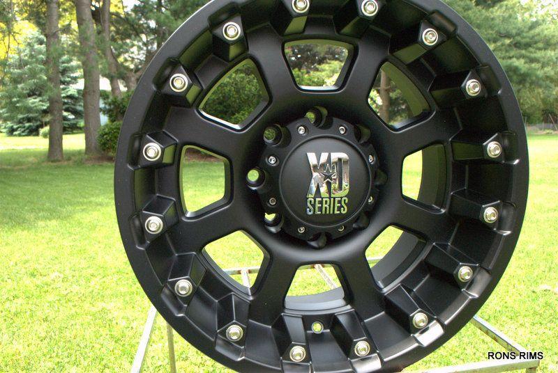 XD 807 Strike 17x9 8 Lug Chevy GMC Ford Dodge Wheel 8 Bolt Lug 24mm