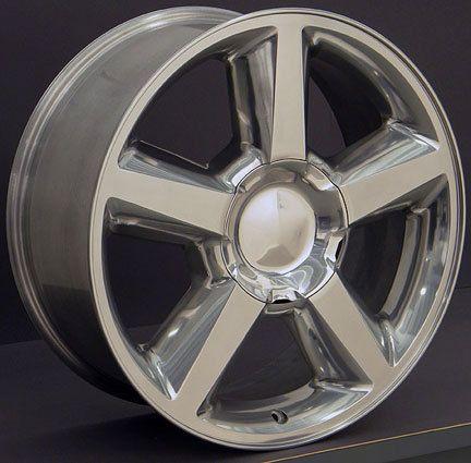 Tahoe Suburban Silverado 20  Factory Wheel Rim 5308 Polished