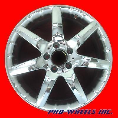 CLK320 CLK430 CLK55 17 Chrome Factory Wheel Rim 65261 39608