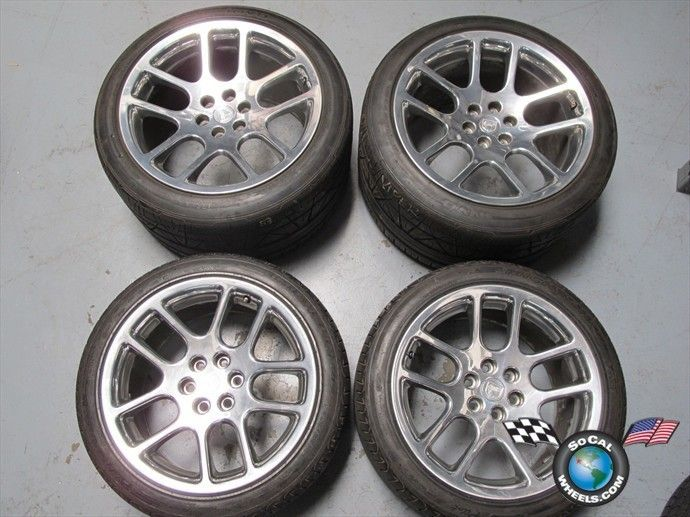 03 10 Dodge Viper Factory 18 19 Wheels Tires Rims 2202 2203