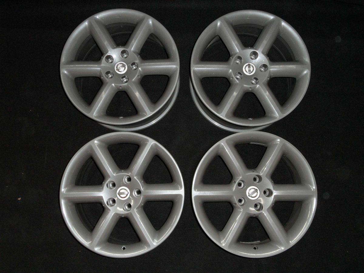 350Z grey graphite18 OEM factory wheels rims set of 4 wheel rim NICE