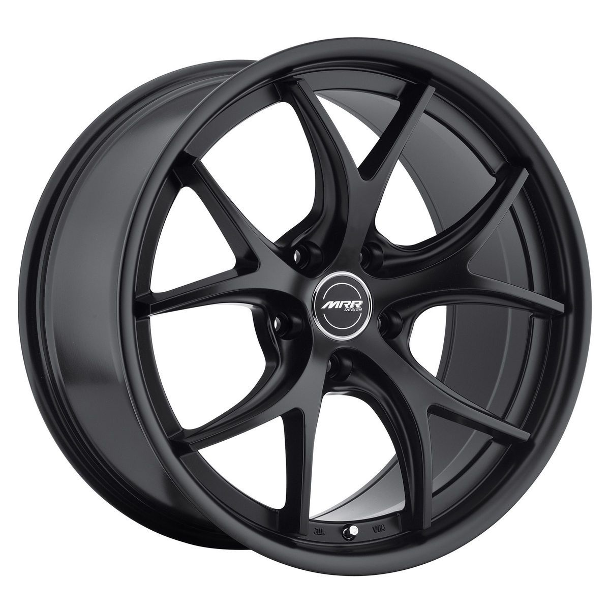 19 MRR GT8 Matte Black Wheels Rims Fit Lexus ES GS RX LS SC300 sc400