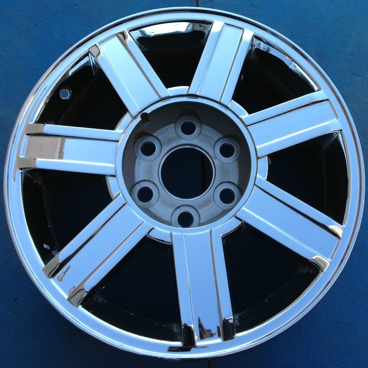 2008 2009 Cadillac Escalade Ext Esv 18 Factory Wheel Rim Chrome 5303b 2002 Wiring Harness