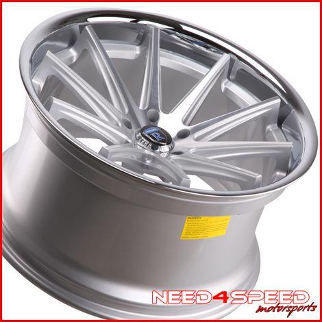 335i Sedan Rohana RC10 Concave Silver Staggered Wheels Rims