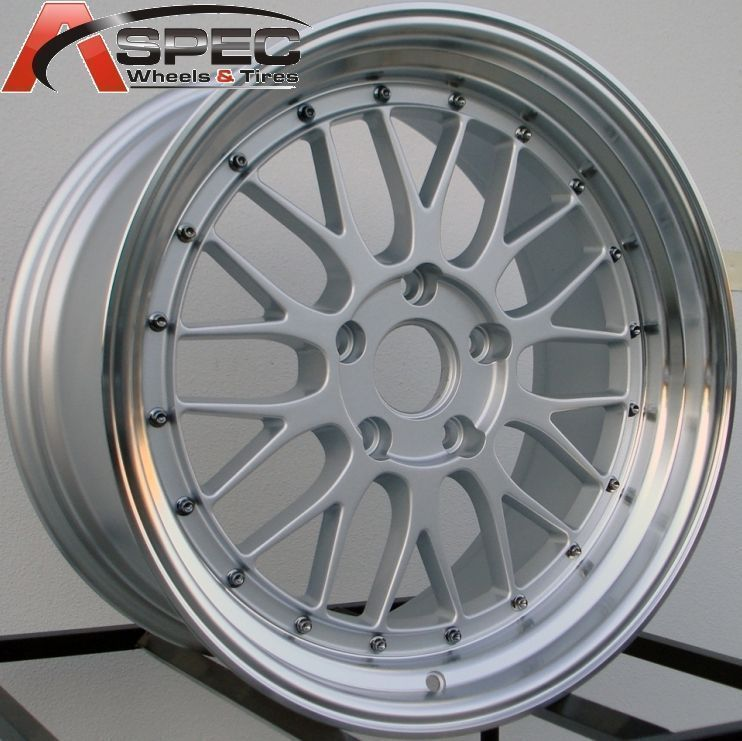 18 Staggered LM Style Wheels 5x120 Rim Fits BMW 328 335